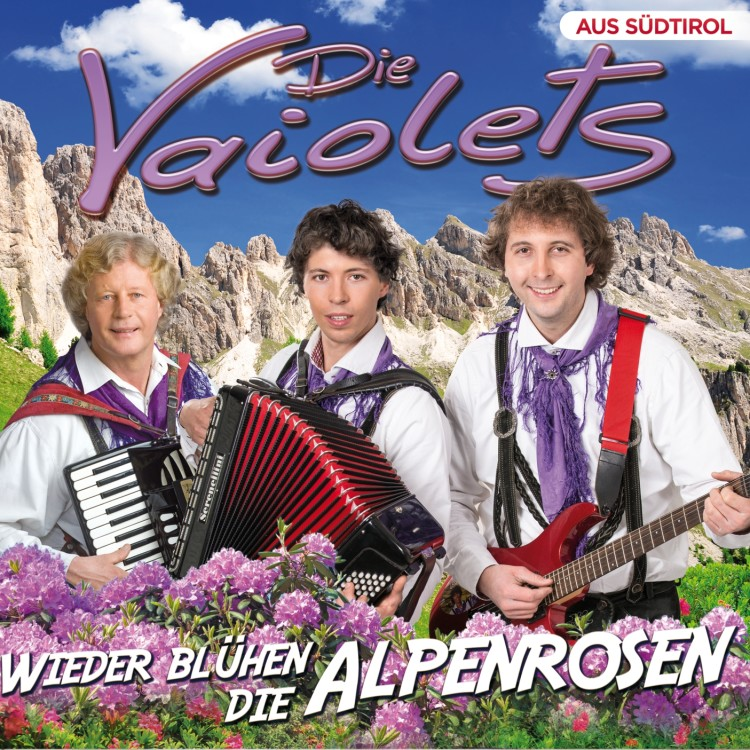 171.254 C Vaiolets Wieder blühen die Alpenrosen